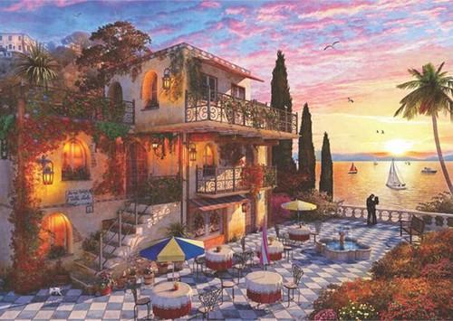 Anatolian 4911 Akdeniz'de Romantizm 3000 Parça Puzzle