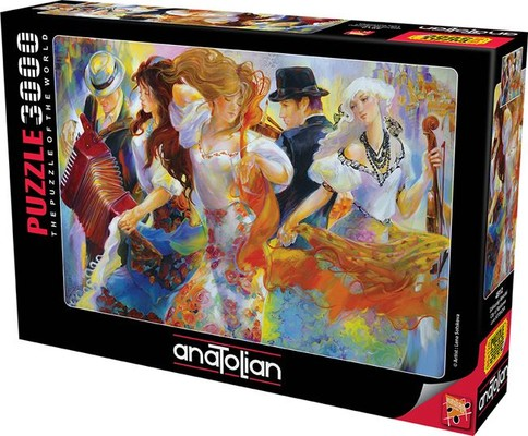 Anatolian Puzzle Gökkuşağı Melodisi 3000 Parça 4912