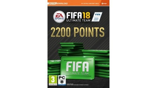 PC FIFA 18 2200 FUT POINTS