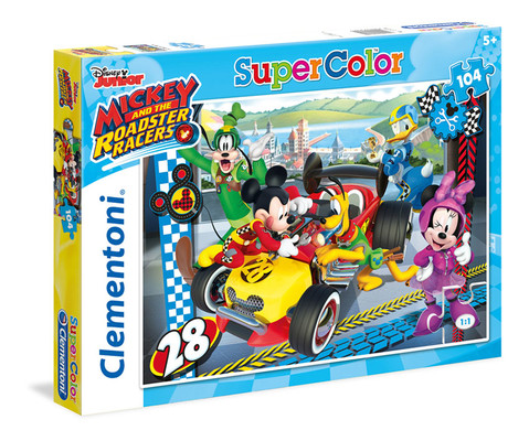 Cle-Puz.104Mickey&Road.Racers 27984