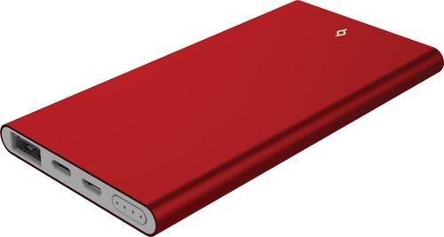 2BB127K ttec AlumiSlim 4.500mAh Taşınabilir Şarj Aleti-Kırmızı