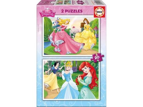 Educa-Puz.2x20 Disney Princess 16846