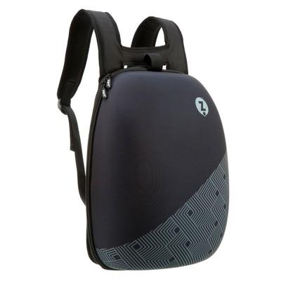 Zipit Shell Sırt Çantası - Black With Black Pattern