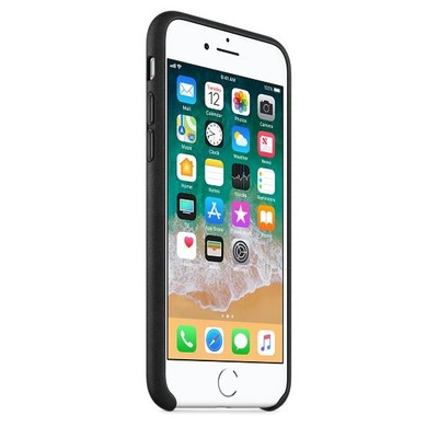 Apple iPhone8 /7 DeriKılıf, Siyah MQH92ZM