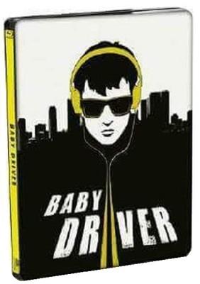 Tam Gaz - Baby Driver Steel Book
