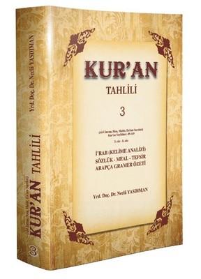 Kur'an Tahlili 3.Cilt