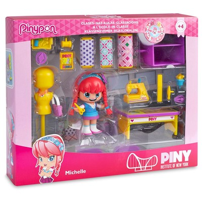 Piny-Figür Sınıf&AksesuarlıSet12918