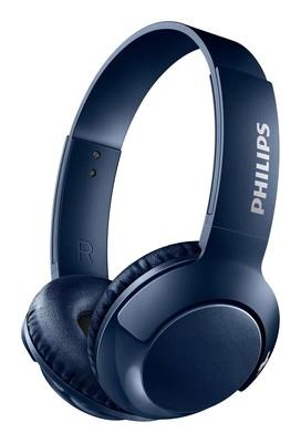 Philips BASS+ Mik.Kafabantlı Bluetooth Kulaklık SHB3075BL