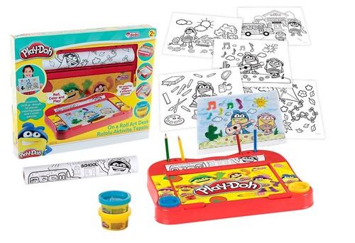 Play Doh Rulolu Aktivite Tepsisi 3278
