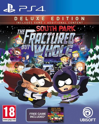 PS4 SOUTH PARK: THE FRACTURED BUT WHOLE DELUXE EDT