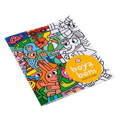 Tegv-Boya Beni Boyama Kitabı 1 5001