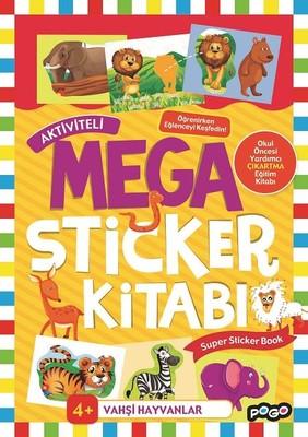 Vahşi Hayvanlar-Mega Sticker Kitabı