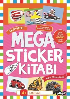 Taşıtlar-Mega Sticker Kitabı