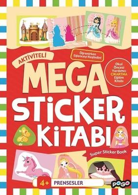Prensesler-Mega Sticker Kitabı