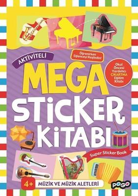 Müzik ve Müzik Aletleri-Mega Sticker Kitabı