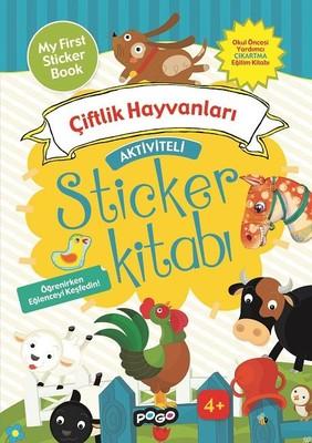 Çiftlik Hayvanları-Sticker Kitabı