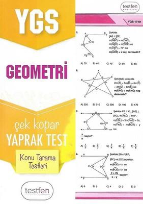 YGS Geometri Konu Tarama Yaprak Testleri