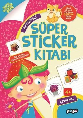 Aktiviteli-Çevremiz Süper Sticker Kitabı