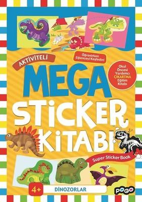Dinozorlar-Mega Sticker Kitabı