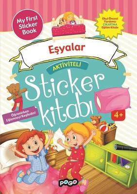 Eşyalar-Aktiviteli Sticker Kitabı