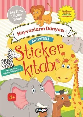 Hayvanların Dünyası-Aktiviteli Sticker Kitabı