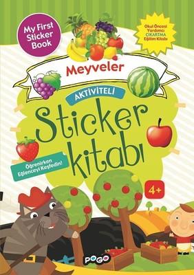Meyveler-Aktiviteli Sticker Kitabı