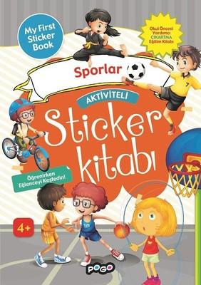 Sporlar-Aktiviteli Sticker Kitabı