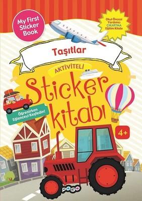 Taşıtlar-Aktiviteli Sticker Kitabı