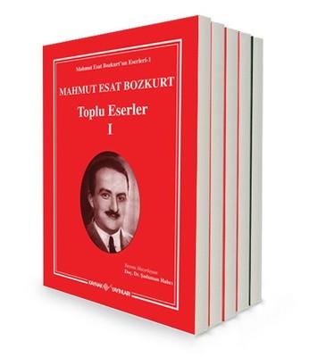 Mahmut Esat Bozkurt Toplu Eserler Seti - 5 Kitap Takım