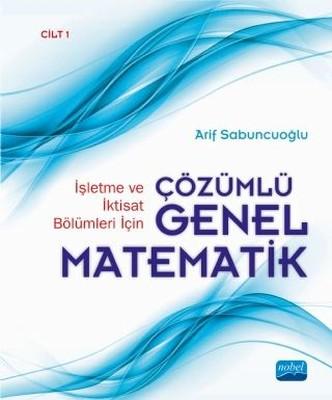Çözümlü Genel Matematik-Cilt 1