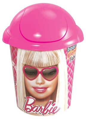 Barbie - Deco Çöp Kapaklı