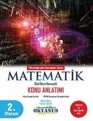 YKS 2.Oturum Matematik Konu Anlatımı