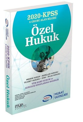 2018 KPSS A Grubu Özel Hukuk