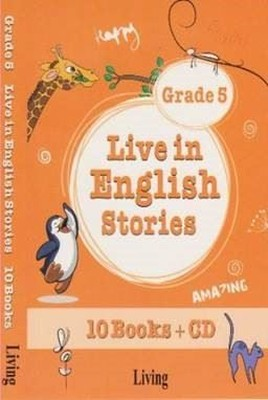 Grade 5 Live in English Stories-10 Books CD