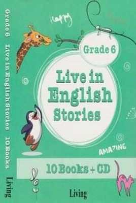 Grade 6 Live in English Stories-10 Books CD