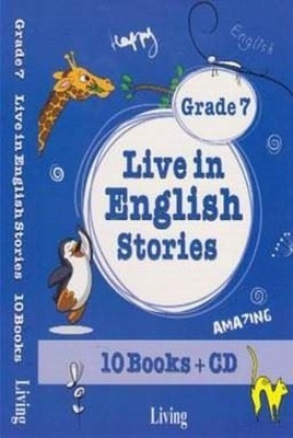 Grade 7 Live in English Stories-10 Books CD