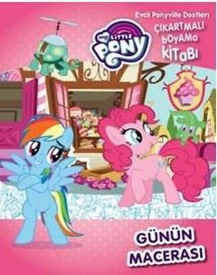 My Little Pony Günün Macerası Evcil Pony ile Dostları Çıkartmalı Boyama