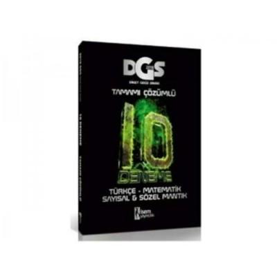 2018 DGS Tamamı Çözümlü 10 Deneme