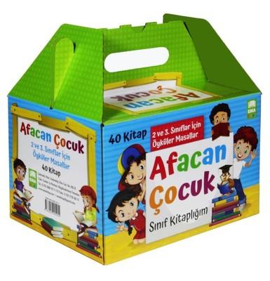 Afacan Çocuk Sınıf Kitaplığı Seti-40 Kitap Takım