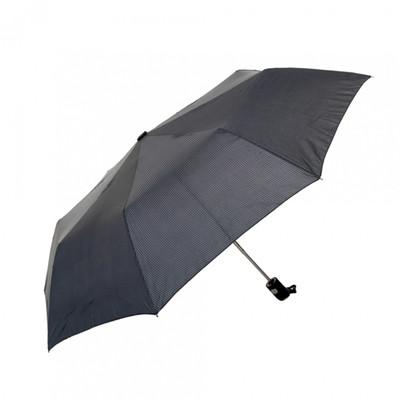 Biggbrella Kauçuk Saplı Otomatik Gri Şemsiye