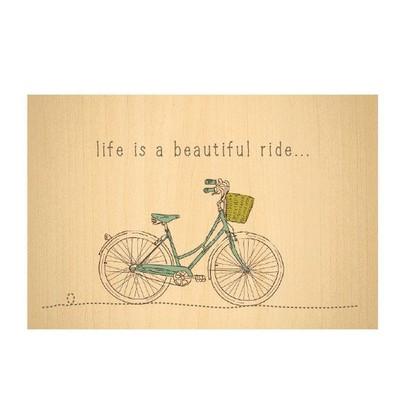 Biggdesign Kartpostal BisikletAhşap