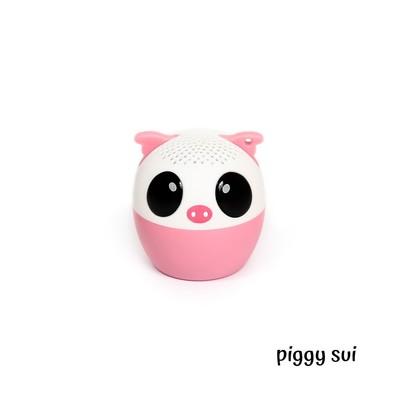 Muicho Pair Kablosuz Mini Speaker Piggy Sui