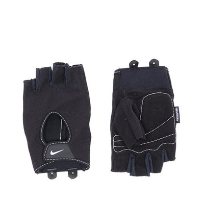 Nike Fitness Eldiven Erkek Fundam Gri Siyah XL