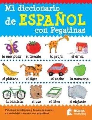 Mi Diccionario de Espanol Con Pegatinas