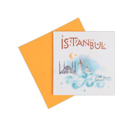 Big  İstanbul Dalgalar Kart