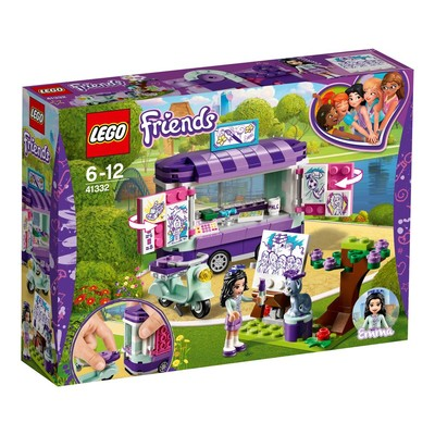 Lego-Friends Emma's Art Stand