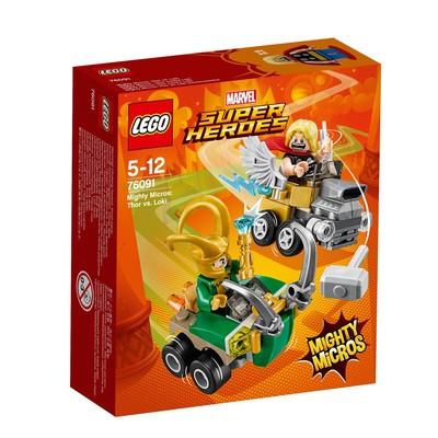 Lego Super Heroes Thor vs Loki 76091