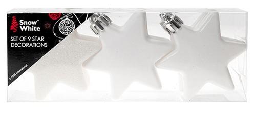 Yıldız Süs 9Lu Set Beyaz