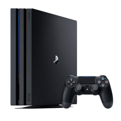 Sony Playstation 4 Pro New Chassis Siyah 1 TB