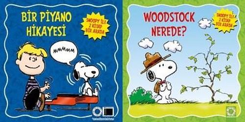 Snoopy ile 2 Kitap Bir Arada